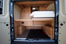 Der riesige Kofferraum